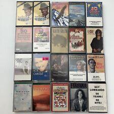 20 Cassette Tape Lot Wholesale Pop Jazz Religious Easy Listening R&B
