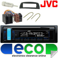 Fiat Punto Mk1 1993-1999 Jvc Cd Mp3 Usb Aux Ipod Auto Radio estéreo kit de montaje