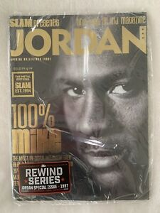 Slam Magazine Limited Edition Gold Metal Issue 84/94! MJ's Rookie Year.+Big card