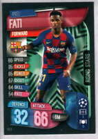 2019-20 Topps Match Attax Extra UEFA Champions League Rising Stars RS5 Barcelona