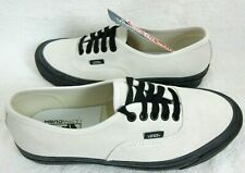 Vans Mens Authentic 44 DX Anaheim Factory Og White Suede Skate shoes Size 8.5