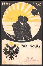 Georges Demeufve. Pax Nobis. Franco-Russe 1902. Constantin Gowen