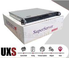 UXS Server 1U Open Source Router X9SCI-LN4F E3-1270 V1 Quad Core 8GB 4x 1GBE 1TB