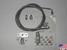 96-04 4.6 Mustang GT or Cobra 1/4in EGR Delete Kit with #3 Boost Vacuum Hose