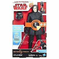 "Star Wars Kylo Ren Interactech 12"" Figure 60+ Sounds Phrases NEW & SEALED"