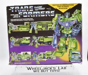 Devastator Giftset NICE FIGS 100% Complete Vintage G1 Transformers Action Figure
