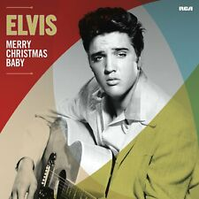 Merry Christmas Baby Elvis Presley 180G Vinyl LP Record White Christmas