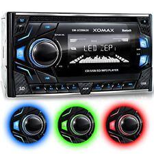 Xomax Xm-2cdb620 autoradio avec Lecteur de CD connexion Bluetooth 3 Couleurs