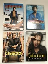 CALIFORNICATION The First 1, Second 2, Third 3 & Fourth 4 Season Sets 8 DVDs