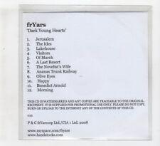(IH434) FrYars, Dark Young Hearts - 2008 DJ CD