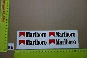 Alter Aufkleber Zigaretten Motorsport MARLBORO D