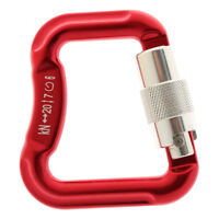 Aluminum Alloy Carabiners for Paragliding and Powered Paragliding - Red