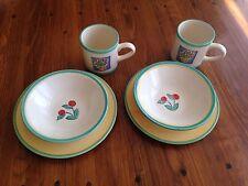 Laura Ashley Nature Table 1987 England Breakfast Set Bowls, Mugs, Plates