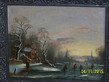 *Balthasar Paul Ommeganck*Master Flemish Artist c1700's Oil Landscape On Canvas