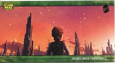 Star Wars Clone Wars Widevision Silver Stamped Parallel Base Card [500] #64