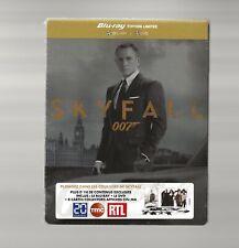 007 JAMES BOND : SKYFALL - FRENCH IMPORT BLU RAY + DVD STEELBOOK - NEW & SEALED