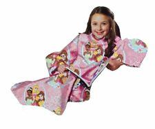Disney Princess (Cinderella Belle Jasmine) Ribbons & Royalty Blanket Comfy Throw