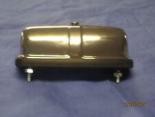 NEW  MG MGB MIDGET CHROME NUMBER PLATE LAMP / LIGHT 127916 rubber bumper