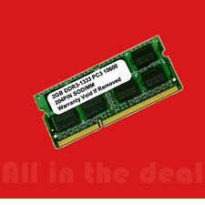 2GB DDR3 1333 MHz PC3-10600 CL9 1.35V Laptop RAM Sodimm Notebook Memory