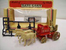 "Lledo, Horse Drawn Fire Engine ""P.B.F."" 1900, Red, Lledo Days Gone 1:76, OVP"