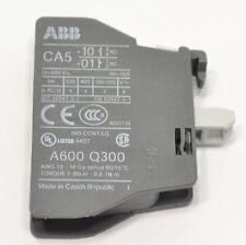 (Lot of 6) CA5-01 ABB Auxiliary Contact Block CA501 1NC