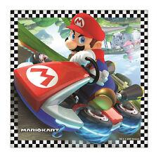 16 Super Mario Papel Servilletas tejido Fan Regalo Nuevo Producto Oficial Fiesta Gemma