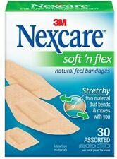 Nexcare Soft 'n Flex Bandages Assorted Size 30 ct