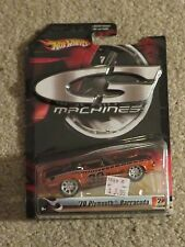 Hot Wheels G Machines '70 1970 Plymouth Barracuda Orange MOC 2006 See My Store