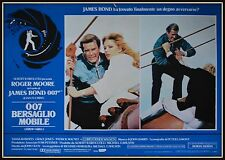 fotobusta BERSAGLIO MOBILE JAMES BOND 007 ROGER MOORE
