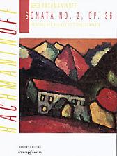 RACHMANINOFF SONATA No 2 Op36 Piano