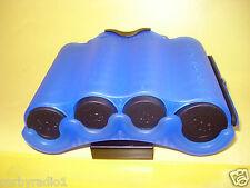 Titular de la moneda & Dispensador Compacto Azul Diseño Ideal Para Taxis Fete & Ticket Stands