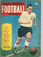 CHARLES BUCHAN'S FOOTBALL MONTHLY ~ OCTOBER 1955 ~ BLACKPOOL EVERTON BLACKBURN