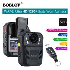 Boblov WA7-D 1296p 32GB Cámara de Vídeo para Cuerpo - Negra