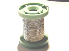 Easy Silver Solder Round Wire 0.50mm x  100mm Jewellery Repair-Hallmarkable
