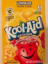 100 Kool Aid Drink Mix LEMONADE