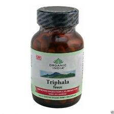 Triphala,120-Veg.caps by ORGANIC INDIA relieve constipation & digestion troubles