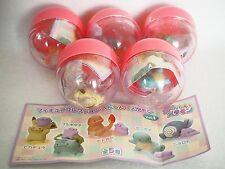 Very Rare JAPAN Pokemon center figure ditto pikachu Charmander 1ver ALL 5 SET
