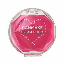 Canmake Tokyo Japan Cream Blush Cheek Color clear raspberry gelato JAPAN