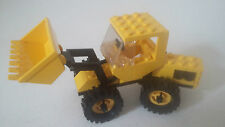 LOT PIÈCES LEGO SYSTEM - LEGOLAND SET 6658 BULLDOZER - LEGO 1986