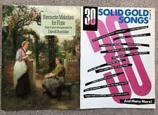 Favourite Melodies For Flute W/ Piano Score Sumbler & Solid Gold Sheet Music