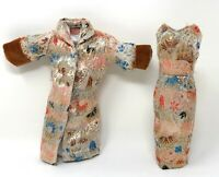 Babs Brocade Coat+Sheath Evening Dress (1960's) Fab-Lu Evening in Paris