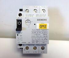 SIEMENS 3VU1300-1MK00 CIRCUIT BREAKER MOTOR PROTECTION 4.0-6.0A  1NO+1NC
