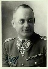 WW2 LUFTWAFFE GENERAL ADOLF WOLF KNIGHTS CROSS DKiG FRANCE DEFENSE REICH SGND.F