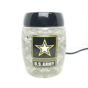 Scentsy U.S. ARMY Wax Warmer Camo - Retired/HTF