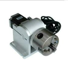 Laser Marking Machine Rotary axis 80mm engraving machine rotating fixture ex