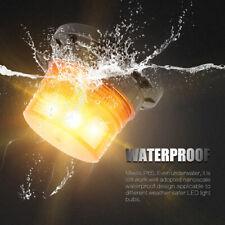 12W LED Emergency Amber Flash Strobe Light and Rotating Beacon Warning Bulb Lamp