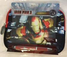 """Iron Man 3 8"""" Tablet Case With Stylist Iron Man tablet sleeve notebook case"""