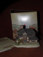 David Winter Cottages British Traditions The Bull And Bush Mib With Coa