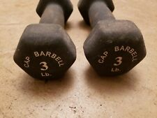 Cap Barbell Coated Dumbbells 3lb Gym Hand Weights