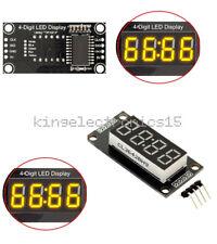 "TM1637  0.36"" inch 4-Bits Digital LED Clock Tube Display Yellow  for Arduino K9"